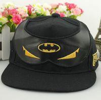 Cheap EMS Free shipping superman spiderman batman Snapback Cap Baseball Hat children fashion adjustable Parent-child hats