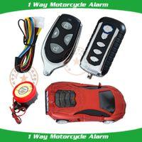Wholesale new remote start motorcycle alarm remote arming disarm sensitivity adjustment anti hijacking helping function learning code alarm remote