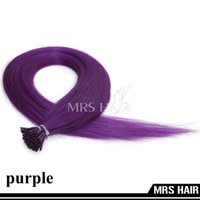 cold fusion hair extensions - Purple Color Micro ring System quot Cold Fusion I Tip Remy Fusion Hair Extensions g pc pack MRS HAIR New Arrival