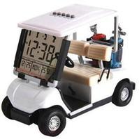 golf cart - Golf Cart With Transparent LCD Digital Alarm Clock LCD Calendar for Birthday Gift
