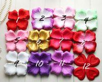 Silk anniversary supplies - Romantic Wedding Anniversary Birthday Ceremony Wedding Festive Supplies Roseleaf Pieces Petals Per Pakage
