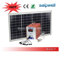 Wholesale 12V AH Portable Mini Solar Power System for Home