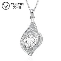 jewelry supply wholesale - 10pcs The new silver plated copper necklace jewelry The new spot supply hot blast jewelry supply N629