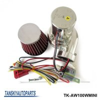Air Filter electric car kit - Tansky Turbo kits Mini Electric Turbo Supercharger Kit Air Filter Intake for all car Motorcycle TK AW100WMINI