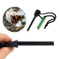 Wholesale Top Quality Outdoor Emergency Survival Magnesium Flint Stone Useful Fire Starter Lighter DIY Kit