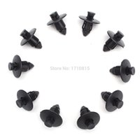 Wholesale 10pcs Plastic Rivets Trim Clips mm For Suzuki Bumpers Sills Trim Panel Kit New