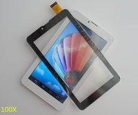 """1000X 7 """"Touch capacitivo Screen Digitizer Panel per telefono MTK6572 7 pollici Tablet PC 2-TP"""
