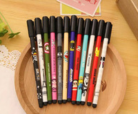 Wholesale Free ship pc Lovely printing gel ink pen creative black signing pen Classic movies ink pen