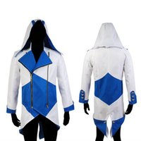 assurance for women - Halloween costumes for women Assurance New Kenway Men s jacket anime cosplay clothes assassins creed costumes for boys kids