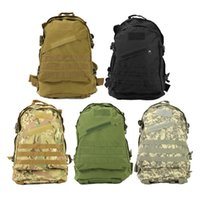 Wholesale New Unisex Sports Outdoors Molle d Military Tactical Backpack Rucksack Bag Camping Traveling Hiking Trekking L L Free DHL