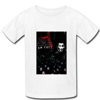 anonymous shirt - 2015 New Arrival Cotton Men T Shirt Custom anonymous fawkes v for vendetta Man T Shirts Size S XXXL