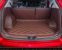 best car cleaning - Best quality Special car trunk mats for Hyundai Tucson Easy to clean waterproof luggage carpets for Hyundai Tucson