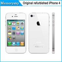 Wholesale Original Unlocked Apple iPhone Mobile Phone quot IPS Refurbished Phone GPS iOS iPhone WCDMA Smartphone Multi Language Cell Phones