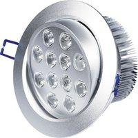 Wholesale High brightness Top quality Ceiling light W leds V LED ceiling light cob down light led downlight