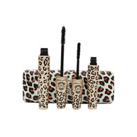 Wholesale Brand Makeup Leopard Print Mascara Rimel Waterproof Cosmetics Maquiagem Long Eyelash Eyelashes Love Alpha Make up Sex Products