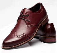 Cheap England Men Pointed toe Flats 100% Genuine Leather Dress Shoes Heels 2015 Fashion British Wind Wedding Shoes Casual Shoes for men Black