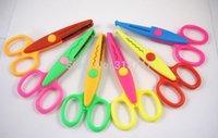 Wholesale Inch About CM Length Creative Scissors Decorative Wave Lace Edge Craft Scissors