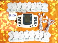 muscle padding - JR309 Electrical Stimulator Full Body Relax Muscle Therapy Massager Electro Pulse TENS Acupuncture pads