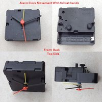 alarm parts - Clock Parts Table Clock Accessory Shaft For Desk Quartz Machine Alarm Clock Movements pc With Free Hands