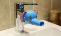 Wholesale Elephant Duck Dophin Faucet Extender for Toddlers Kids Baby Sink Handle Extender for Children Allows Them to Reach the water