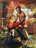 Cheap oil painting Best sport painting