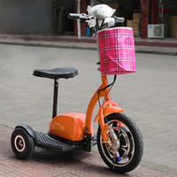 electric tricycle - 2014 Good quality Wheels Electric Tricycle zappy scooter Mobility Bike Bicycle brushless motor for the old disabled handicapped person