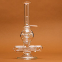 Wholesale Glass Water Smoking Pipe Percolator Pipes Honeycomb Disk Bong Assorted WP022