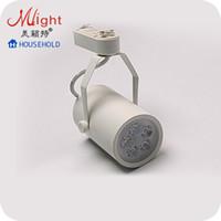 Wholesale 1pcs W High end LED Track Spotlight Modern Commercial Lighting Light