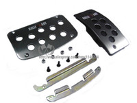 Wholesale JDM RALLIART Pedal Set for Mitshubishi AT Auto Parts universal stock ready tos ship