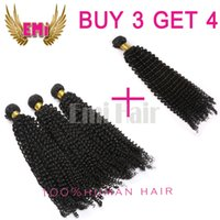 Indian Remy Hair - Brazilian Hair Remy Human Hair Extensions Peruvian Malaysian Indian Hair Weave Curl Hair Bundles A Quality Top Quality Double Weft