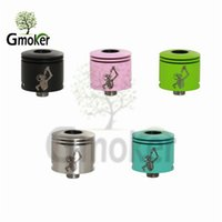 Wholesale Wotofo Freakshow Mini rda Stainless Steel mini Freakshow Original Wotofo freakshow mini RDA atomizer for A MOD SMPL mod the Troll rda
