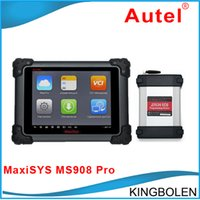 For Benz automotive ecu connectors - Original AUTEL MaxiSYS Pro MS908 MS908P AUTEL MaxiDas Maxisys pro DS708 Diagnostic System with WiFi MS908P DHL