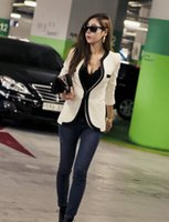 Wholesale Hot sale han edition dress spring and autumn clothing fashionable cultivate one s morality v neck long sleeve small suit