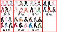 Wholesale 18pair group cotton busha Pantyhose Tights baby legging pants stockings trousers kids pantynose Leggings infant panty hose pants tights