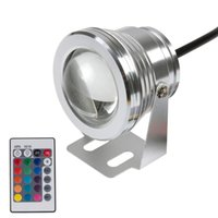 Wholesale Colorful Underwater Fountain Light W V LM Waterproof IP68 Colors Swimming Pool Pond Lamp Key Remote Controller order lt no t