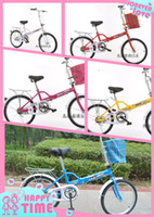 folding bikes - Folding Bicycles Student Bike Folding Bicycles Fashion Student Portable and Alloy Rim Bike Hot Womens Mens Suspension Folding Bike