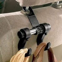 Wholesale 1PCS Car Hanger Auto Bags Organizer Coat Hook Accessories Holder Clothes Hanging Holder Seat Help
