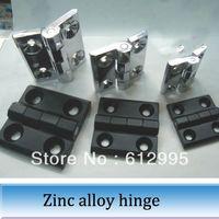Wholesale 10pcs Zinc alloy hinge electric box cabinet furniture hinges mm black