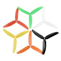 Wholesale 5030 Blade Prop CW CCW Plastic Propeller Blade Propel with Adapters for RC Airplane Aircraft Quadcopter Spare Parts Colors
