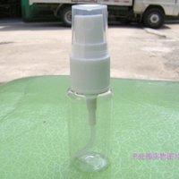 Cheap High-grade 15ml Transparent Plastic Spray Bottle Refillable Bottle Perfume PET Bottle with Spray Pump