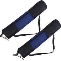 Wholesale Outdoor Yoga Mat Carrier Bag Mesh Center Adjustable Strap Nylon