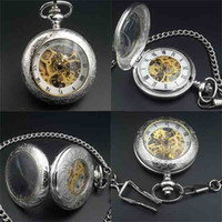 antique pocket watches for sale - antique silver pocket watch for sale Hand Wind up mechanical pocket watch Crystals Movement Roman numerals