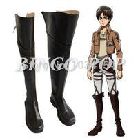advanced accessory shoe - Bingo Pop Shingeki No Kyojin Attack on Titan Eren Mikasa Levi Cosplay Shoes Advanced Custom