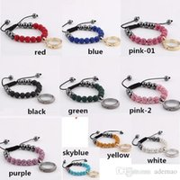 Cheap glass locket chain bracelets Best shambhala bracelets