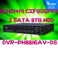 Wholesale 16 Channel DVR H Standalone CCTV DVR Recorder P2P Cloud Access ch Audio Input Mobile Phone Android Security DVR CH