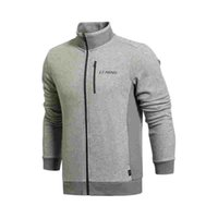 Wholesale Original New LINING men s jacket AWDK365 Hoodie Sportswear