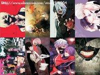 Wholesale Hot Japan Anime quot Tokyo Ghoul quot Postcard Kaneki Ken Cartoon Greeting Cards MXP TG