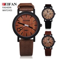 wooden hook - Simulation Wooden Relojes Quartz Men Watches Casual Wooden Color Leather Strap Watch Wood Male Wristwatch Relogio Masculino