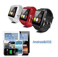 Wholesale U8 Smart watch Wrist Watch Phone Mate Bluetooth U8 For IOS Android iPhone Samsung LG HTC quot LED U8 Pro Bluetooth Watch Touch Screen SB U8
