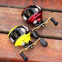 Wholesale 4pcs Newest FDDL BB Ball Bearings Left Right Fishing Reel red yellow colors Fishing Baitcasting Reel Wheel